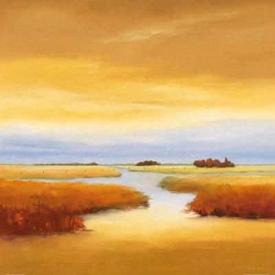 Down The River I-Hans Paus-Art Print