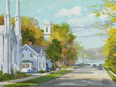 Down to the Harbour St. Andrews NB-Peter Snyder-Giclee Print