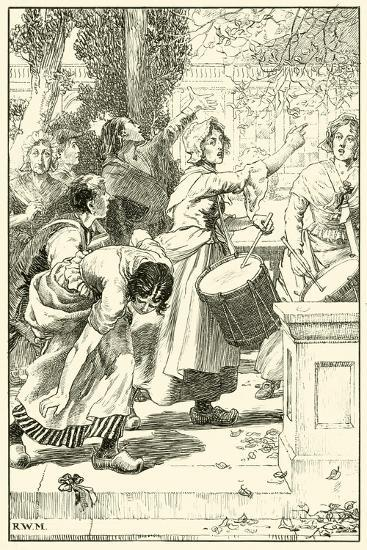 """Down with the Robbers of the Poor!""--Giclee Print"