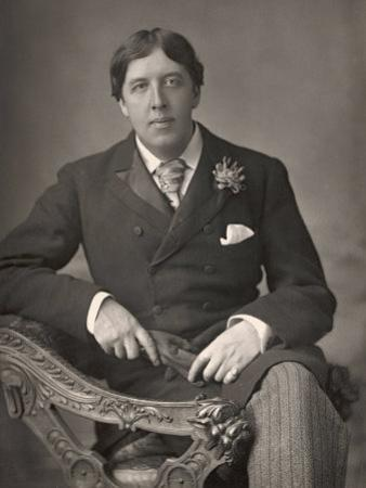 Oscar Wilde by Downey