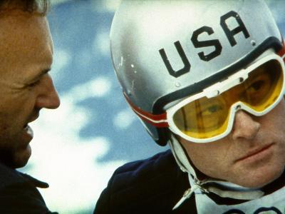 Downhill Racer, Gene Hackman, Robert Redford, 1969--Photo