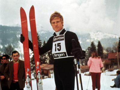 Downhill Racer, Robert Redford, 1969