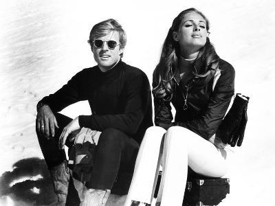 Downhill Racer, Robert Redford, Camilla Sparv, 1969--Photo
