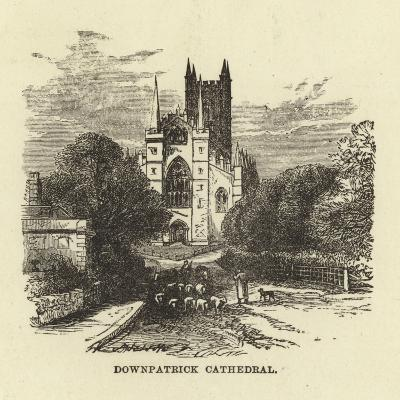 Downpatrick Cathedral--Giclee Print