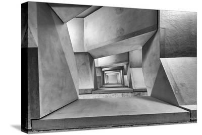 Downstairs-Guy Goetzinger-Stretched Canvas Print