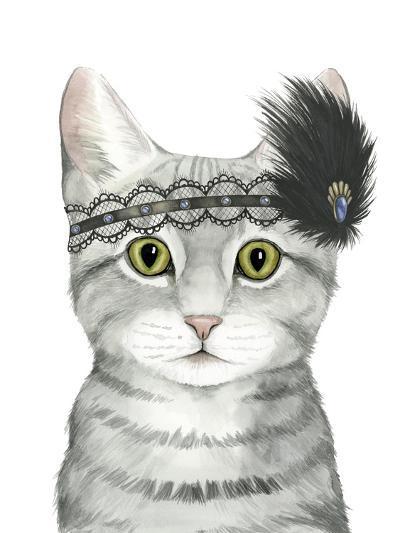 Downton Cat III-Grace Popp-Art Print