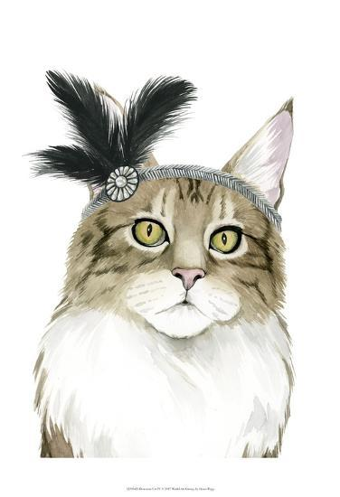 Downton Cat IV-Grace Popp-Art Print