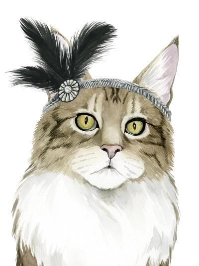 Downton Cat IV-Grace Popp-Art Print