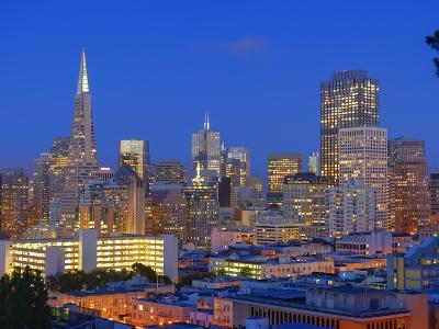 Downtown and Transamerica Building, San Francisco, California, Usa-Marco Simoni-Photographic Print