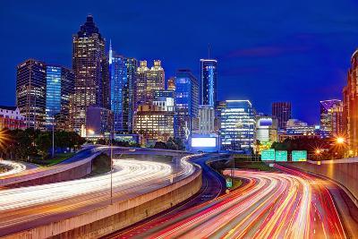 Downtown Atlanta, Georgia, USA Skyline.-SeanPavonePhoto-Photographic Print