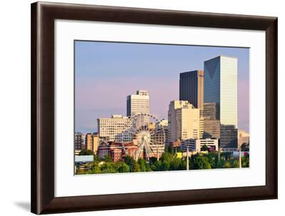 Downtown Atlanta, Georgia, USA Skyline.-SeanPavonePhoto-Framed Photographic Print