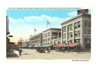 Downtown Billings, Montana--Art Print