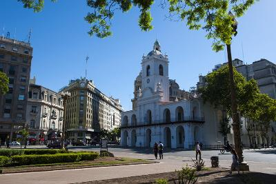 Downtown Buenos Aires, Argentina, South America-Michael Runkel-Photographic Print