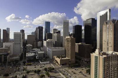 Downtown City Skyline, Houston, Texas, United States of America, North America-Gavin-Photographic Print