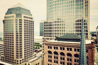 Downtown Cleveland-benkrut-Photographic Print