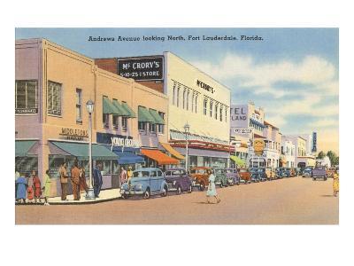Downtown Ft. Lauderdale, Florida--Art Print