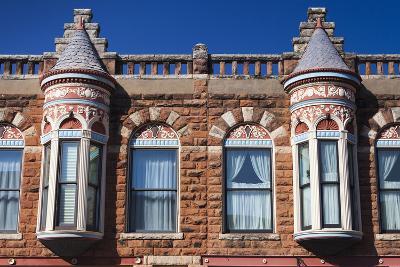 Downtown Historic Buildings, Guthrie, Oklahoma, USA-Walter Bibikow-Photographic Print