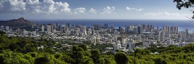 Downtown Honolulu, Hawaii, USA-Charles Crust-Photographic Print