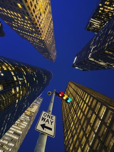 Downtown Houston.-Jon Hicks-Photographic Print