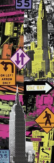 Downtown I-Tom Frazier-Giclee Print