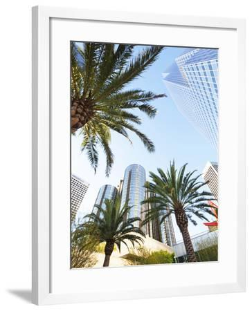 Downtown, Los Angeles, California, United States of America, North America-Gavin Hellier-Framed Photographic Print
