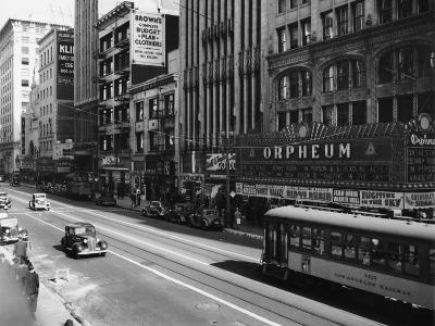 Downtown Los Angeles--Photographic Print