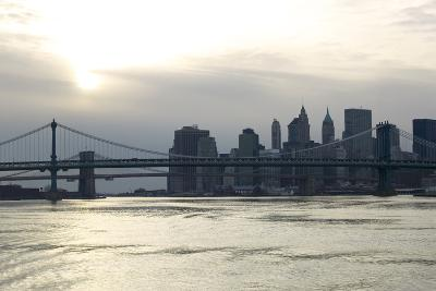 Downtown Manhattan from the Hudson River, New York City-G. Jackson-Photo