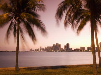 Downtown Miami Skyline at Dusk Miami, Florida, United States of America, North America-Angelo Cavalli-Photographic Print