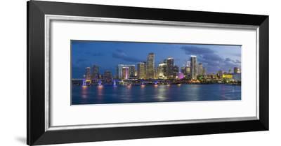 Downtown Miami Skyline, Miami, Florida, USA, North America-Gavin Hellier-Framed Photographic Print
