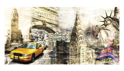 Downtown New York-Bresso Sol?-Art Print