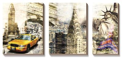 Downtown New York-Bresso Sola-Canvas Art Set
