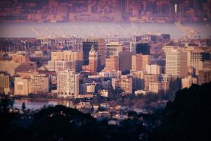 Downtown Oakland Cityscape