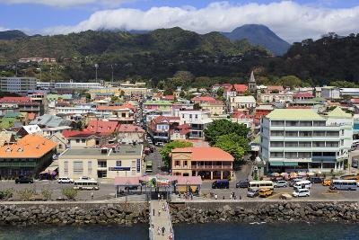 Downtown Roseau, Dominica, Windward Islands, West Indies, Caribbean, Central America-Richard Cummins-Photographic Print