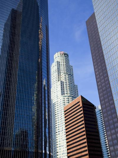Downtown Skyscrapers in Los Angeles, California, United States of America, North America-Richard Cummins-Photographic Print