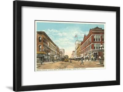Downtown Terre Haute, Indiana