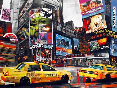Downtown-James Grey-Art Print