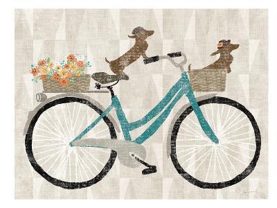 Doxie Ride Ver I-Wild Apple Portfolio-Art Print