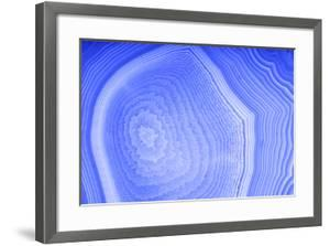 Background with Blue Agate Structure by Dr Alex
