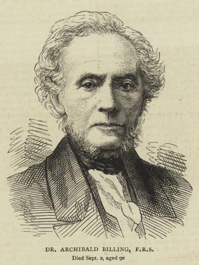 Dr Archibald Billing, Frs--Giclee Print