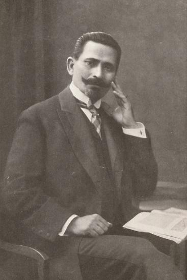 'Dr. Belisario da Silva Tavora. Recently Chief of Police of Rio de Janeiro', 1914-Unknown-Photographic Print