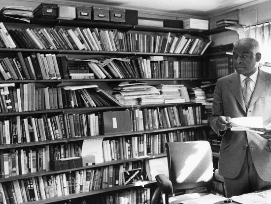 Dr. Benjamin E. Mays - 1971-Maurice Sorrell-Photographic Print