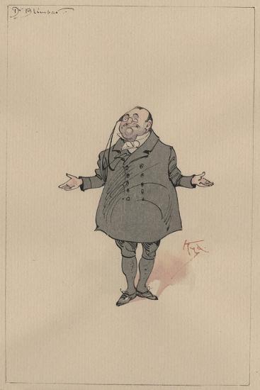 Dr Blimber, c.1920s-Joseph Clayton Clarke-Giclee Print