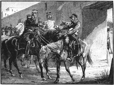 Dr Brydon Arriving at Jelalabad with News of British Deaths, First Anglo-Afghan War, 1842--Giclee Print