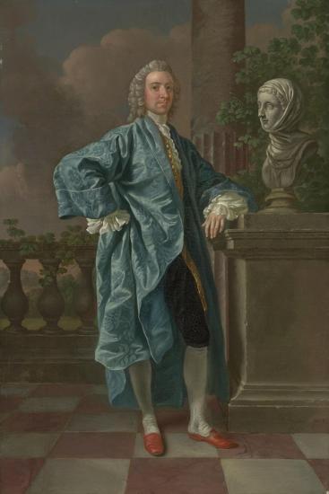 Dr Charles Chauncey, M.D. (1706-77) 1747-Francis Hayman-Giclee Print