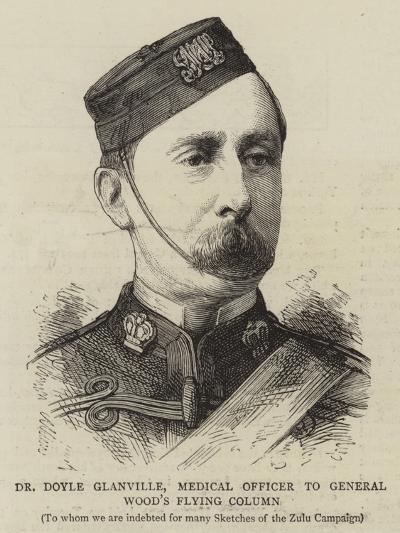 Dr Doyle Glanville, Medical Officer to General Wood's Flying Column--Giclee Print
