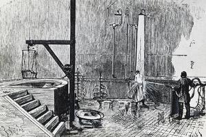 Dr Duval's Hydrotherapy Establishment in Chaillot Quarter, Paris, 19th Century,