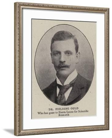 Dr Fielding Ould--Framed Giclee Print
