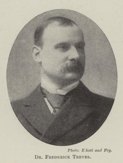 Dr Frederick Treves--Giclee Print