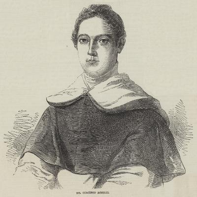Dr Giacinto Achilli--Giclee Print