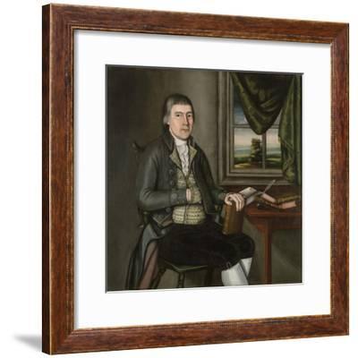 Dr. Hezekiah Beardsley, c.1788-90- The Beardsley Limner-Framed Giclee Print